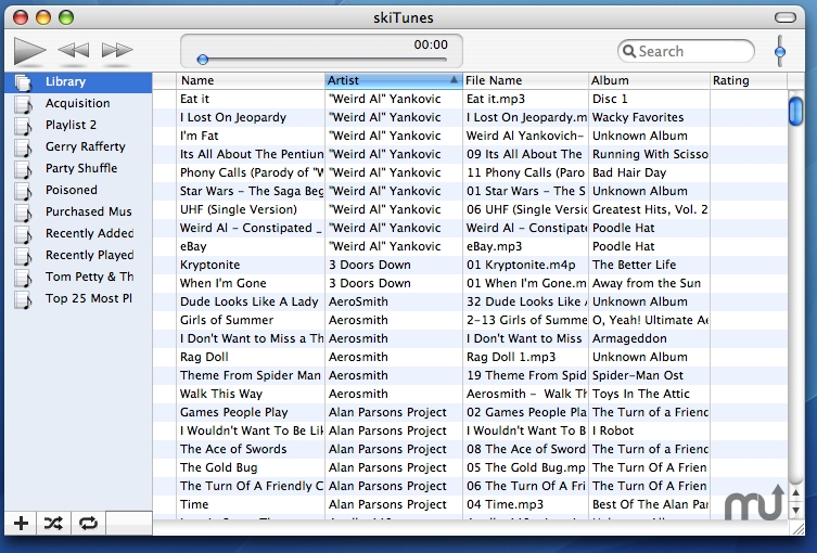 Screenshot 1 for skiTunes