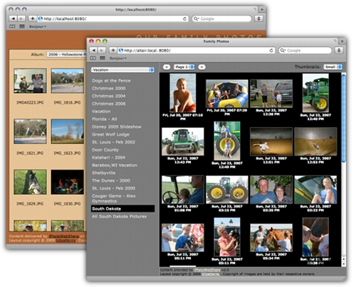 Screenshot 1 for iPhotoWebShare