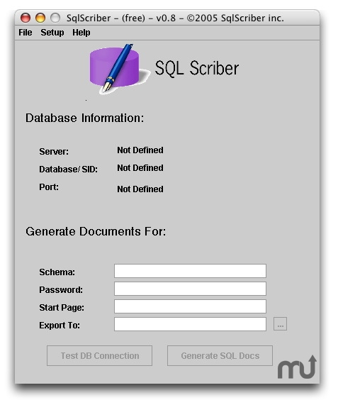 Screenshot 1 for SqlScriber