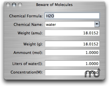 Screenshot 2 for Beware of Molecules