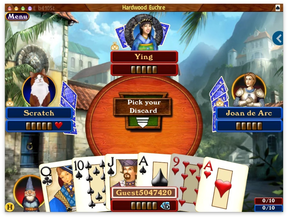 Screenshot 3 for Hardwood Euchre