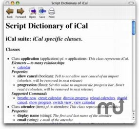 Screenshot 1 for Script Dictionary to HTML