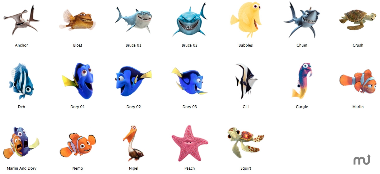 Finding nemo 3 0 free download for mac macupdate for Finding nemo fish names
