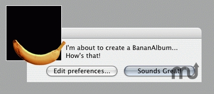 Screenshot 1 for BananAlbumCreator