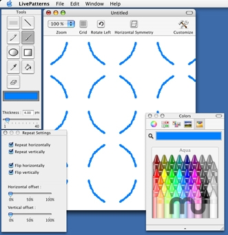 Screenshot 1 for LivePatterns