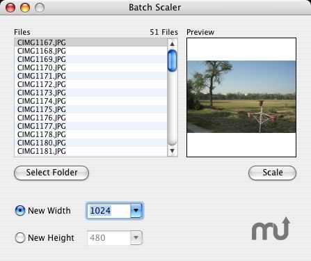 Screenshot 1 for Image Scaler