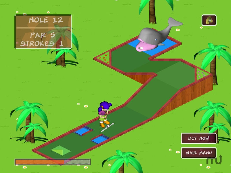 Screenshot 1 for Garden Golf