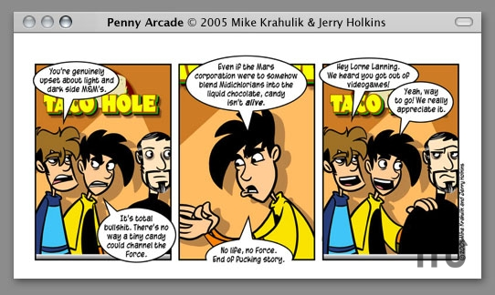 Screenshot 1 for Penny Arcade Comic Viewing Widget