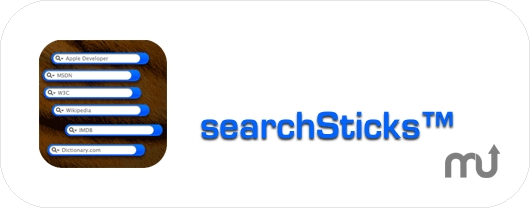 Screenshot 1 for searchSticks