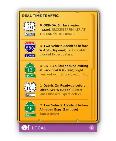 Screenshot 2 for Yahoo! Local Traffic