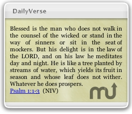 Screenshot 1 for DailyVerse
