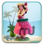 Screenshot 1 for Hula Girl