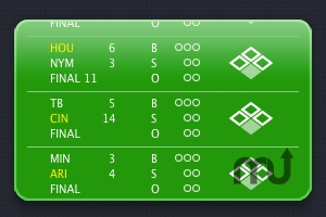 Screenshot 1 for Scoreboard Widget