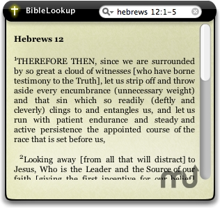 Screenshot 1 for BibleSearch