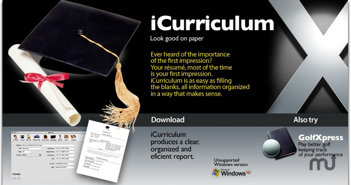 Screenshot 1 for iCurriculum