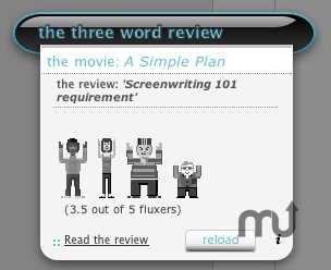 Screenshot 1 for 3 Word Review widget