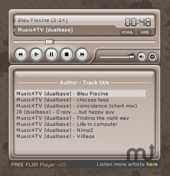Screenshot 1 for FLAM Player