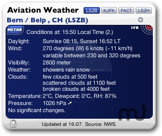 Screenshot 1 for Aviation Weather