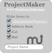 Screenshot 1 for WP-ProjectMaker