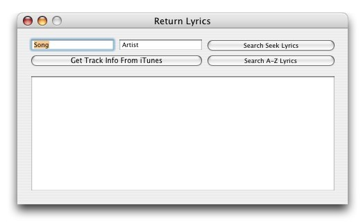 Screenshot 1 for Return Lyrics