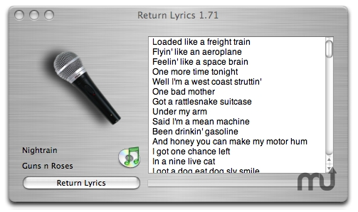 Screenshot 2 for Return Lyrics