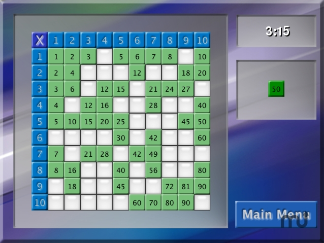 Screenshot 1 for Multiplication Express