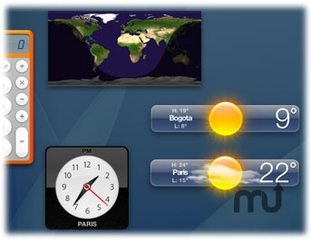 Screenshot 1 for SunClock