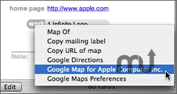 Screenshot 1 for Google Maps Plugin