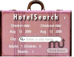 Screenshot 1 for Hotel Search