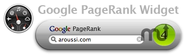 Screenshot 1 for Google PageRank
