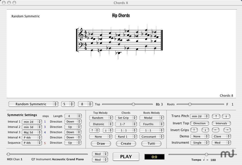 Screenshot 1 for Chords X