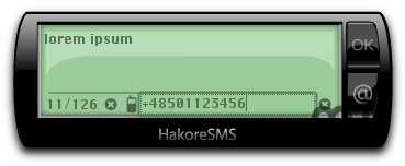 Screenshot 1 for HakoreSMS