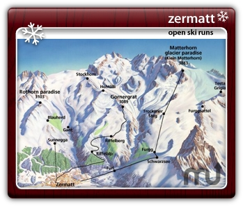Screenshot 1 for Zermatt Ski Runs