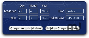 Screenshot 1 for Date Converter