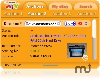 Screenshot 1 for eBay Watcher
