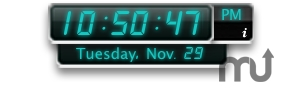 Screenshot 1 for Digital Clock Widget