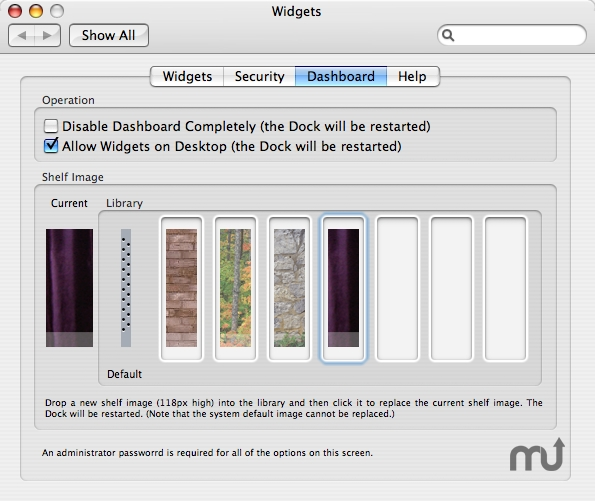 how to add widgets on mac