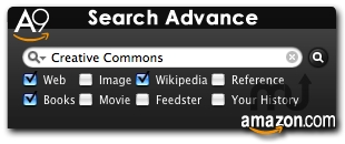 Screenshot 1 for A9 Search Advance