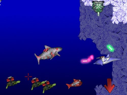 Screenshot 2 for Laser Dolphin