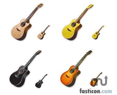 Screenshot 1 for Acoustic Guitar Icons