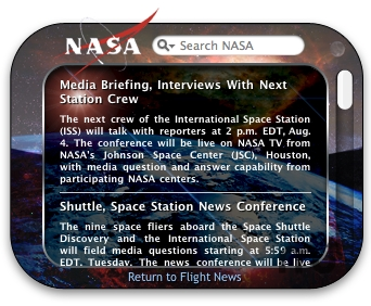 Screenshot 1 for NASA Widget
