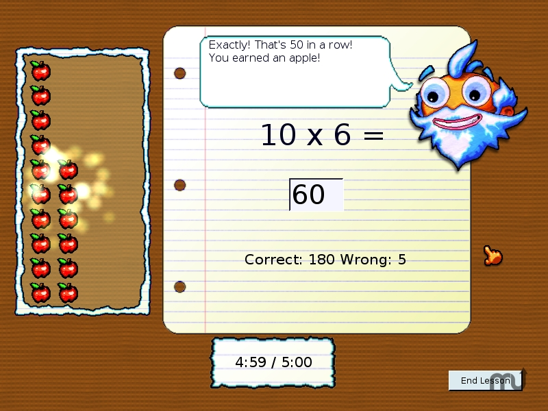 Screenshot 1 for Argus Teaches Multiplication