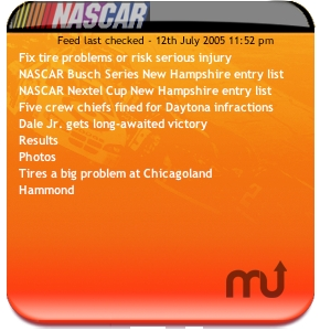 Screenshot 1 for Nascar News