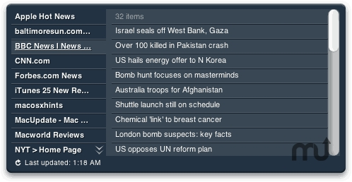 Screenshot 1 for News Reader