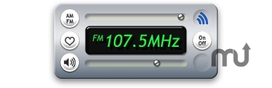 Screenshot 1 for Griffin radioSHARK Widget