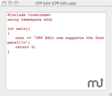 Screenshot 1 for CPP Edit