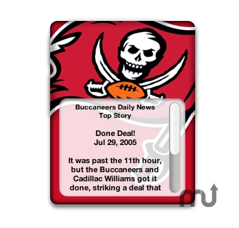Screenshot 1 for Tampa Bay Buccaneers Official Daily News