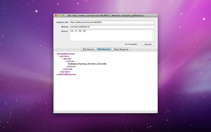 Screenshot 4 for XML RPC Client