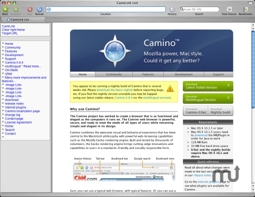Screenshot 1 for CamiLink