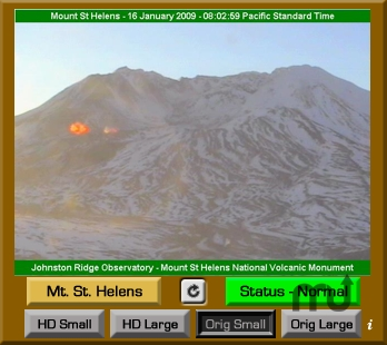 Screenshot 1 for Mt. St. Helens VolcanoCam Widget